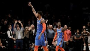 George anota 47 y comanda remontada del Thunder ante Nets