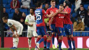 CSKA humilla 3-0 al Real Madrid en el Bernabéu