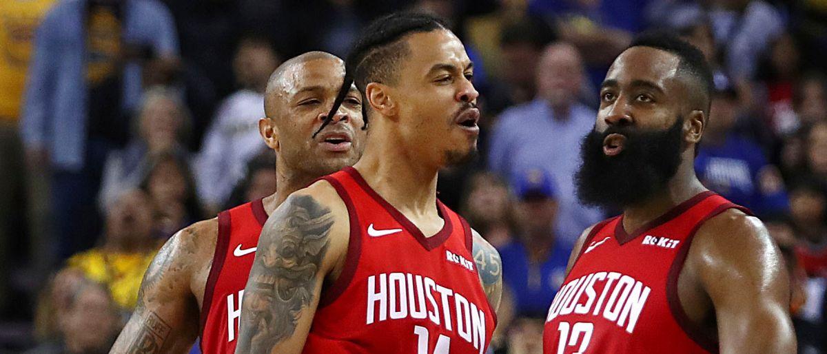 Harden guía a Rockets a triunfo sobre Warriors en prórroga