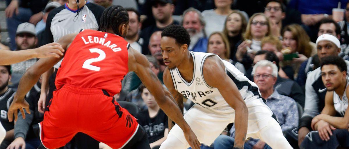 DeRozan logra triple doble: Spurs vencen a Leonard y Raptors