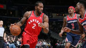 Leonard encabeza ofensiva de Raptors ante Wizards