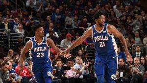 76ers anota 83 puntos en 1ra mitad y arrolla a Timberwolves