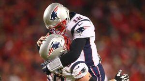 Patriots ganan en Kansas City y van ante Rams en Super Bowl