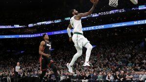 Doble-doble de Irving guía a Celtics a triunfo sobre Heat