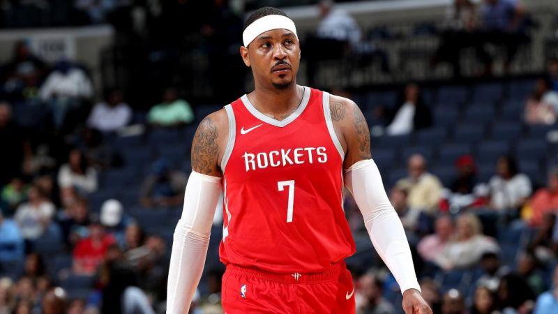 Rockets envían a Carmelo Anthony a Bulls