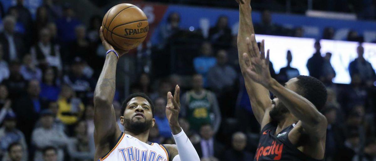 George y Westbrook dan victoria al Thunder sobre Blazers