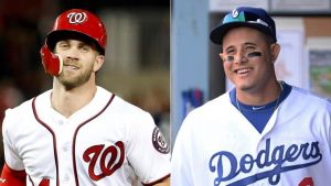 """Los Padres presentan """"serias ofertas"""" a Manny Machado y Bryce Harper"""