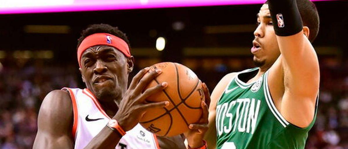 Con 25 de Siakam, Raptors apabullan a Celtics