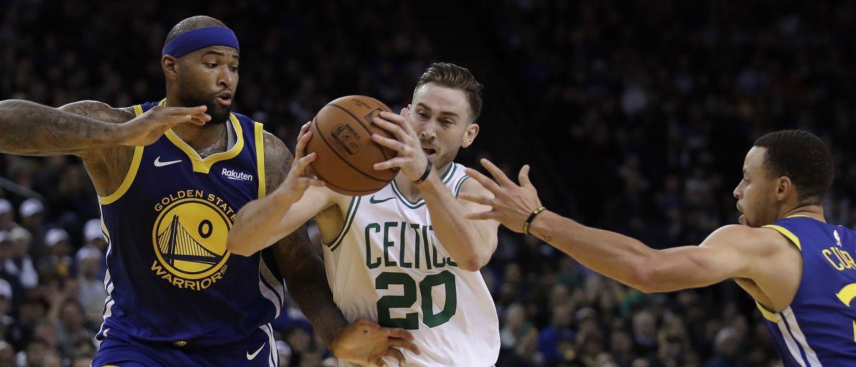 Hayward y Celtics aplastan a Warriors 128-95