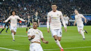 Man United liquida al PSG en la agonía