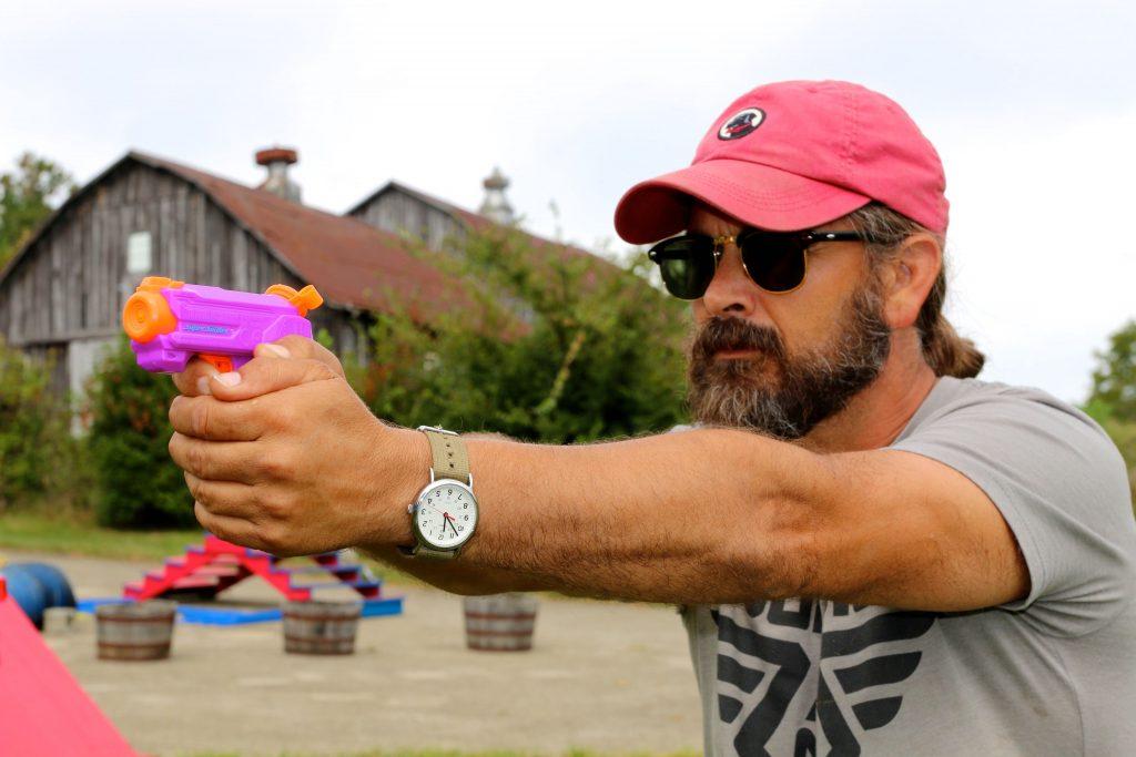 Is a water gun an effective dog training tool?