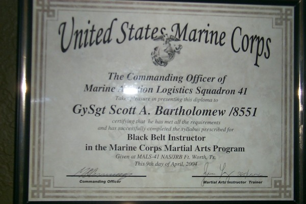 mcmap certificate template togetherweserved gysgt scott bartholomew