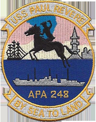USS Paul Revere (APA 248)