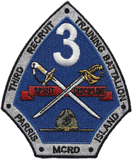3rd Recruit Training Bn (Cadre) RTR, MCRD Parris Island, RTR (Cadre) MCRD Parris Island