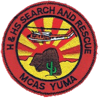 Search and Rescue (SAR), MCAS Yuma, AZ