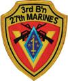 3rd Bn, 27th Marine Regiment (3/27), 27th Marine Regiment