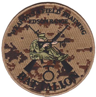 Weapons Training Bn, Edson Range, MCRD (Cadre) San Diego, CA