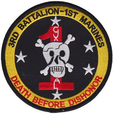 3rd Bn, 1st Marine Regiment  (3/1), 1st Marine Regiment