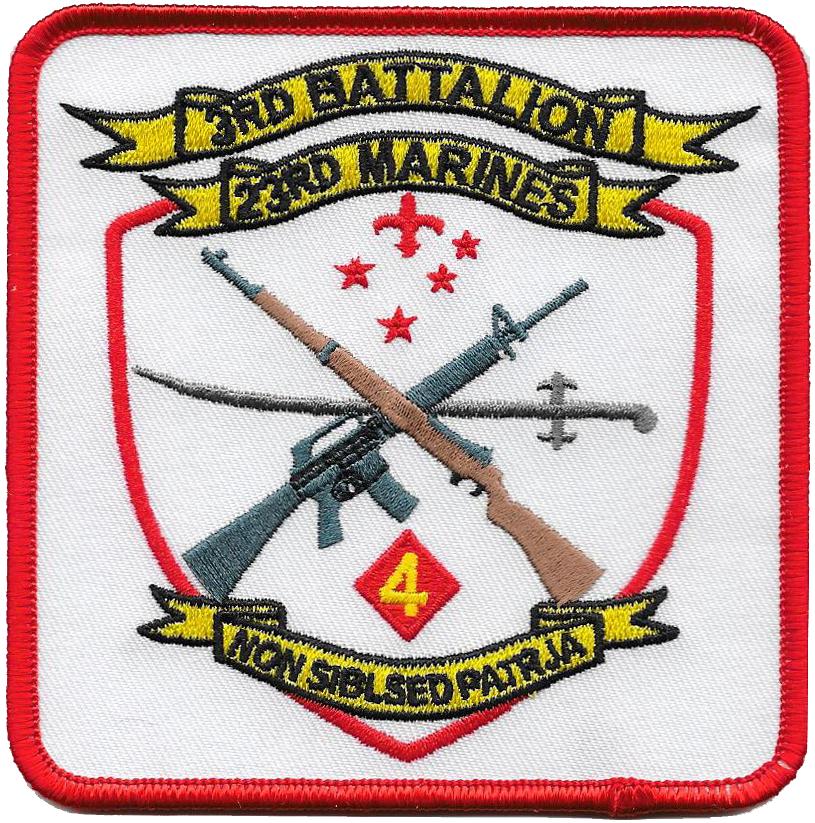 3rd Bn, 23rd Marine Regiment (3/23), 23rd Marine Regiment