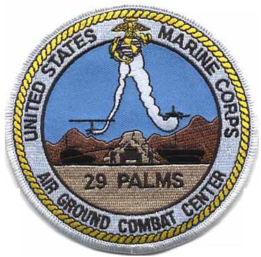 MCAGCC 29 Palms, CA