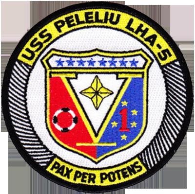 MarDet USS PELELIU LHA-5
