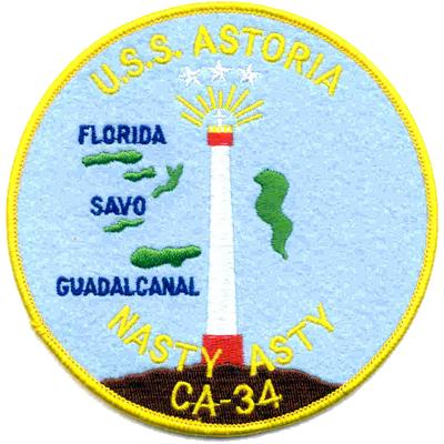 MARDET USS Astoria (CA-34)