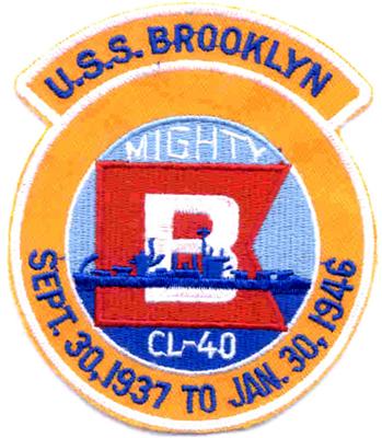 MarDet USS Brooklyn (CL-40)