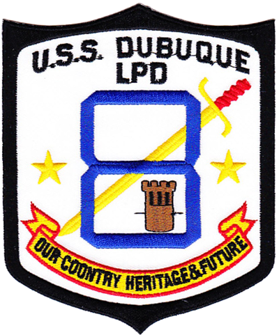MarDet USS Dubuque (LPD-8)