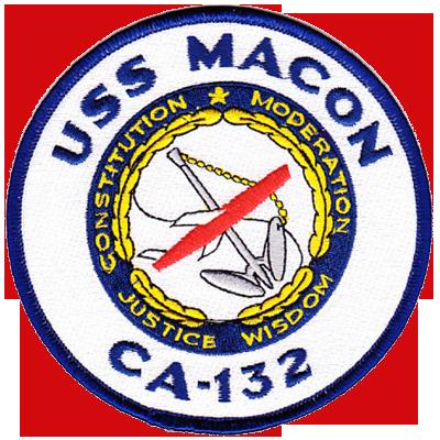 MARDET USS Macon (CA-132)