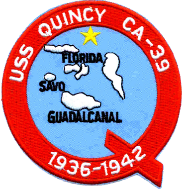 MARDET USS Quincy (CA-39)