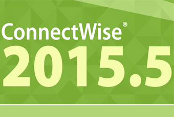 ConnectWise 2015.5 Release