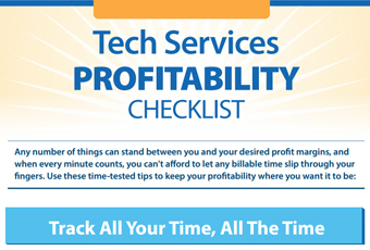 Tech Services Checklist for Profitability