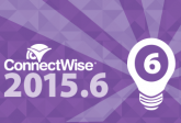 New Features with ConnectWise 22015.6 User Interface (UI)