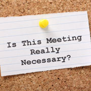 How To Have Productive Meetings | Red Light & Green Light Meetings