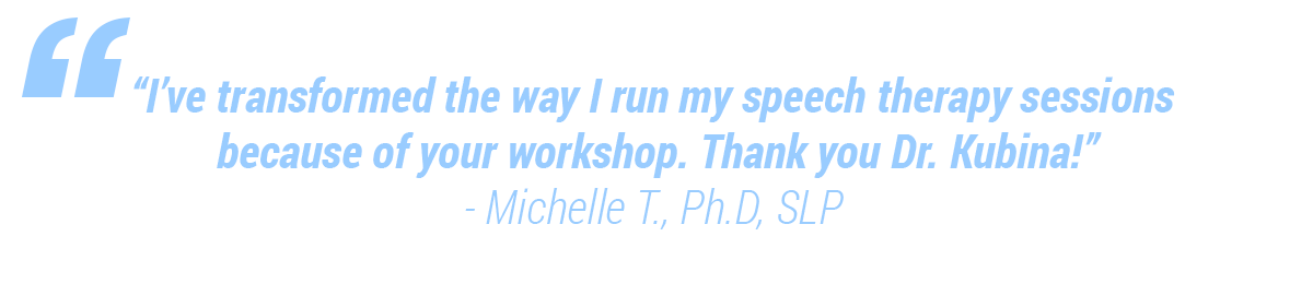 Transformed speech-language pathology sessions with data science.