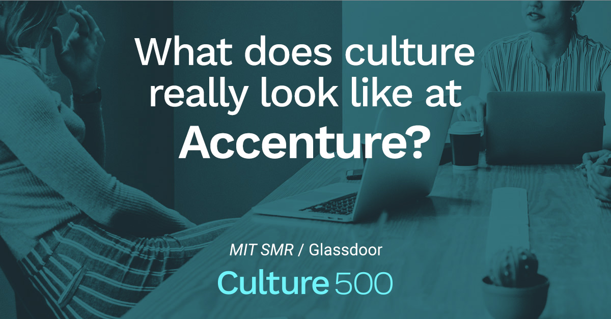 How Employees Talk About Culture at Accenture | Culture 500