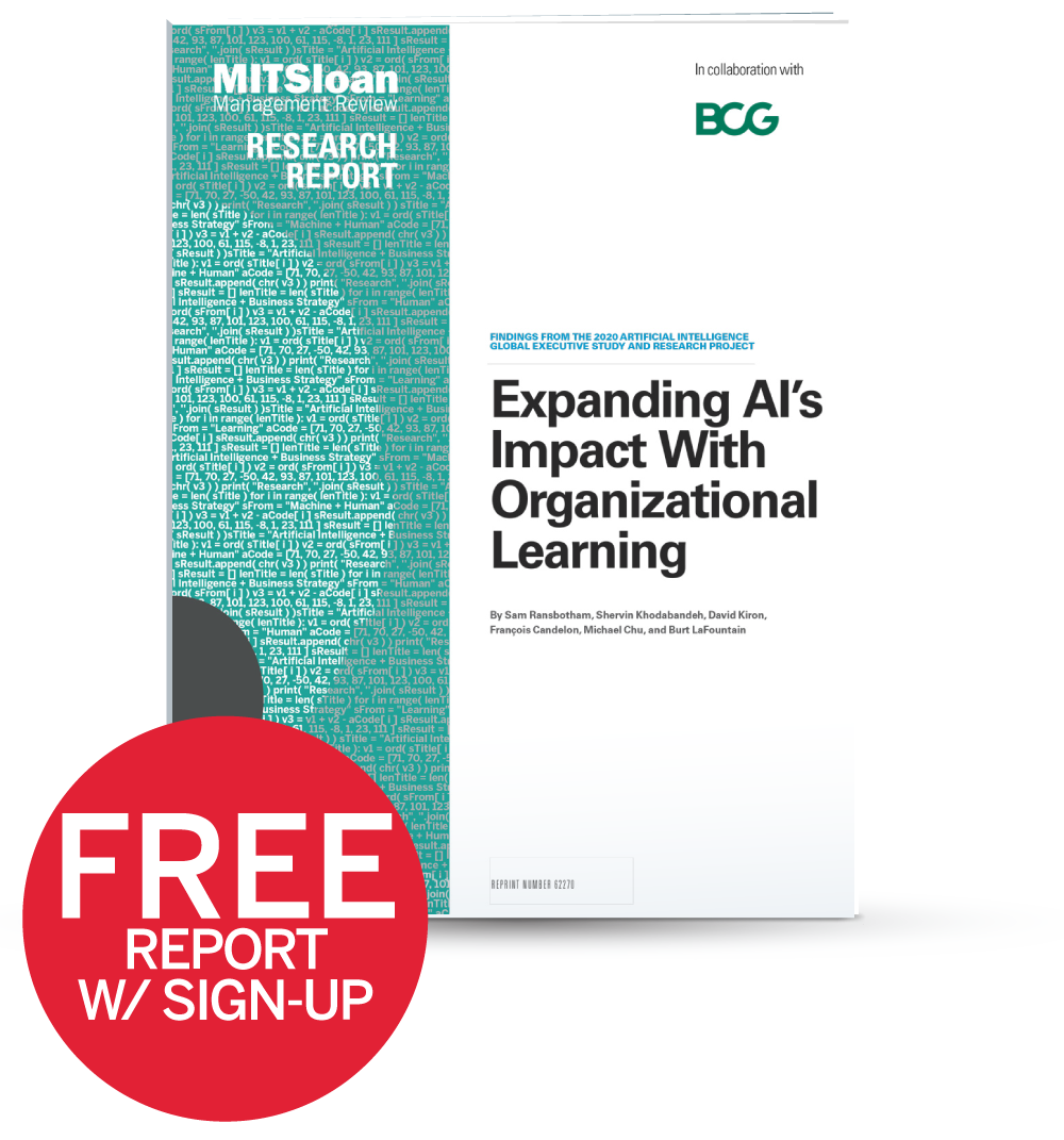 Expanding AI's Impact With Organizational Learning