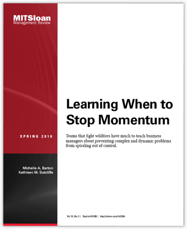 Momentum Article