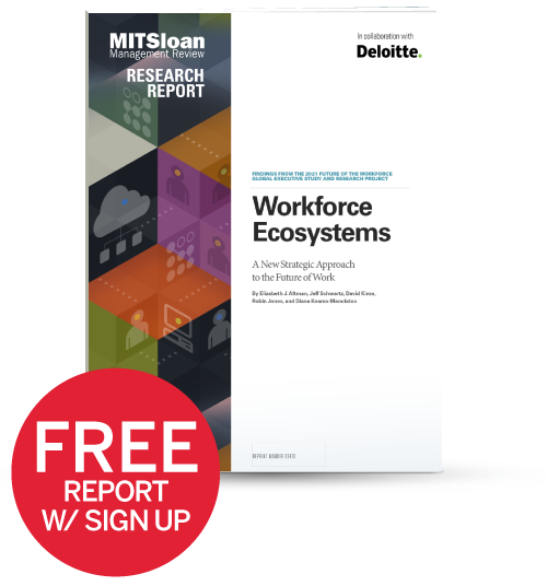 Workforce Ecosystems: A New Strategic Approach to the Future of Work