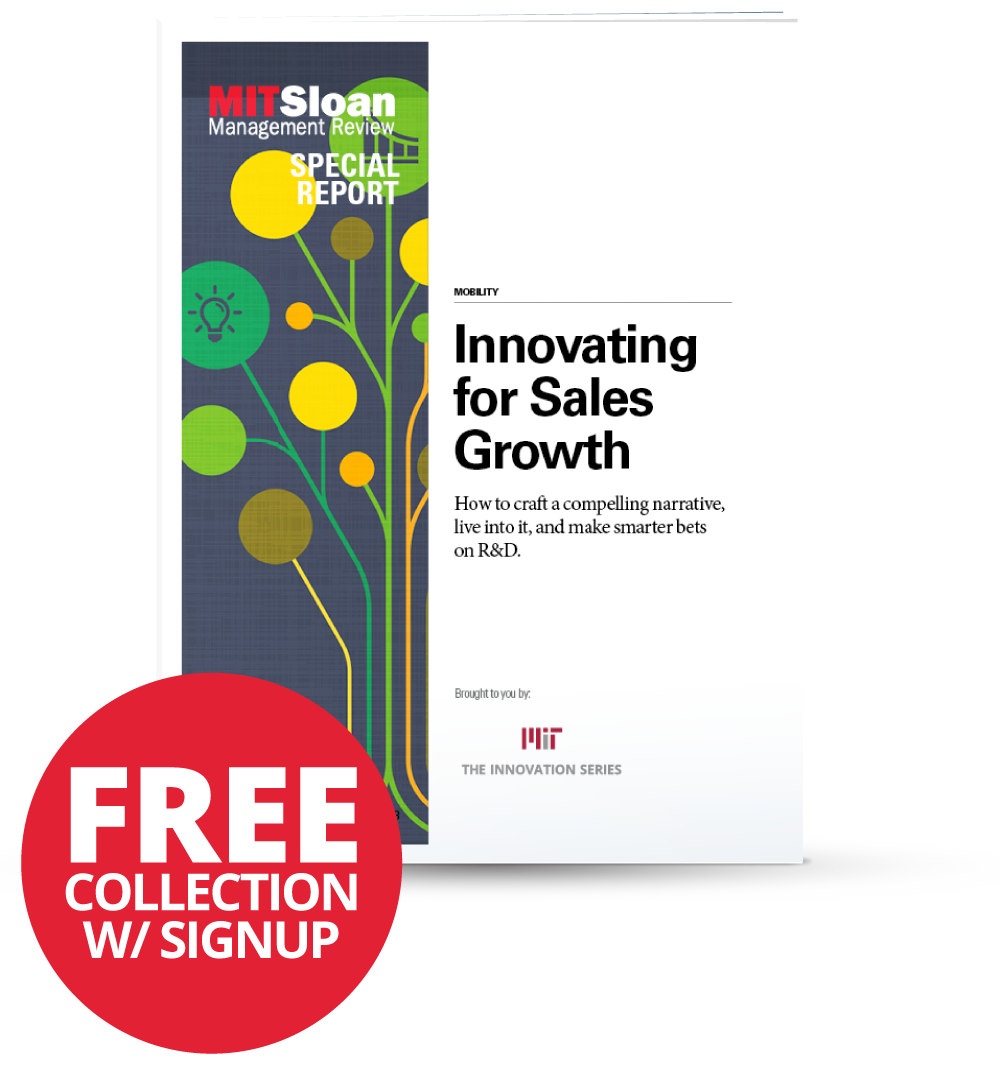 Innovating for Sales Growth - PDF