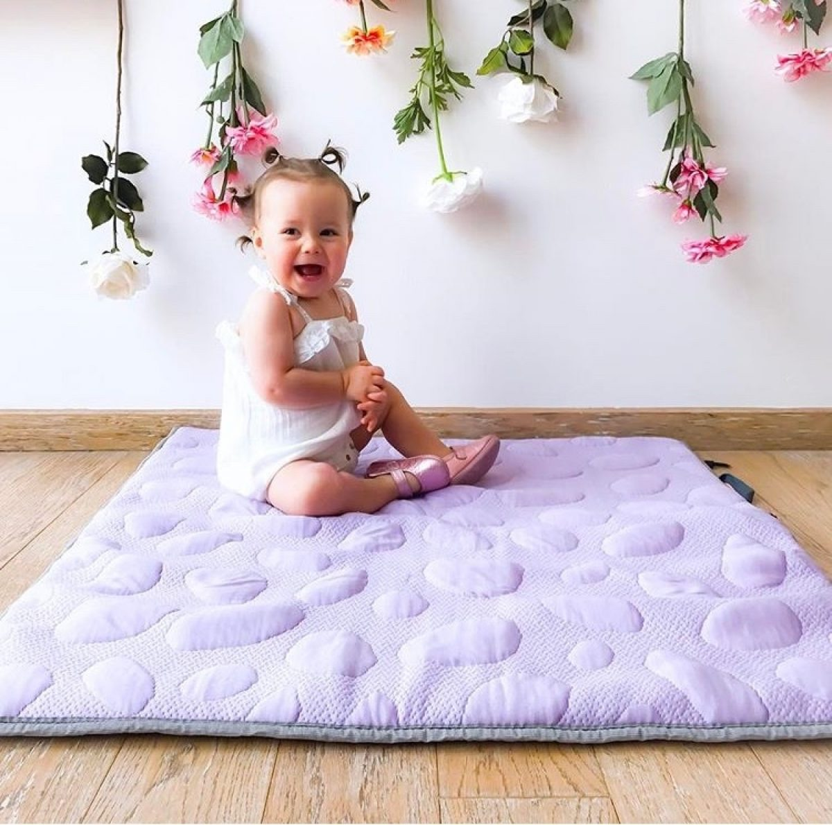 Nook Blog Custom Lily Pad Baby Playmat