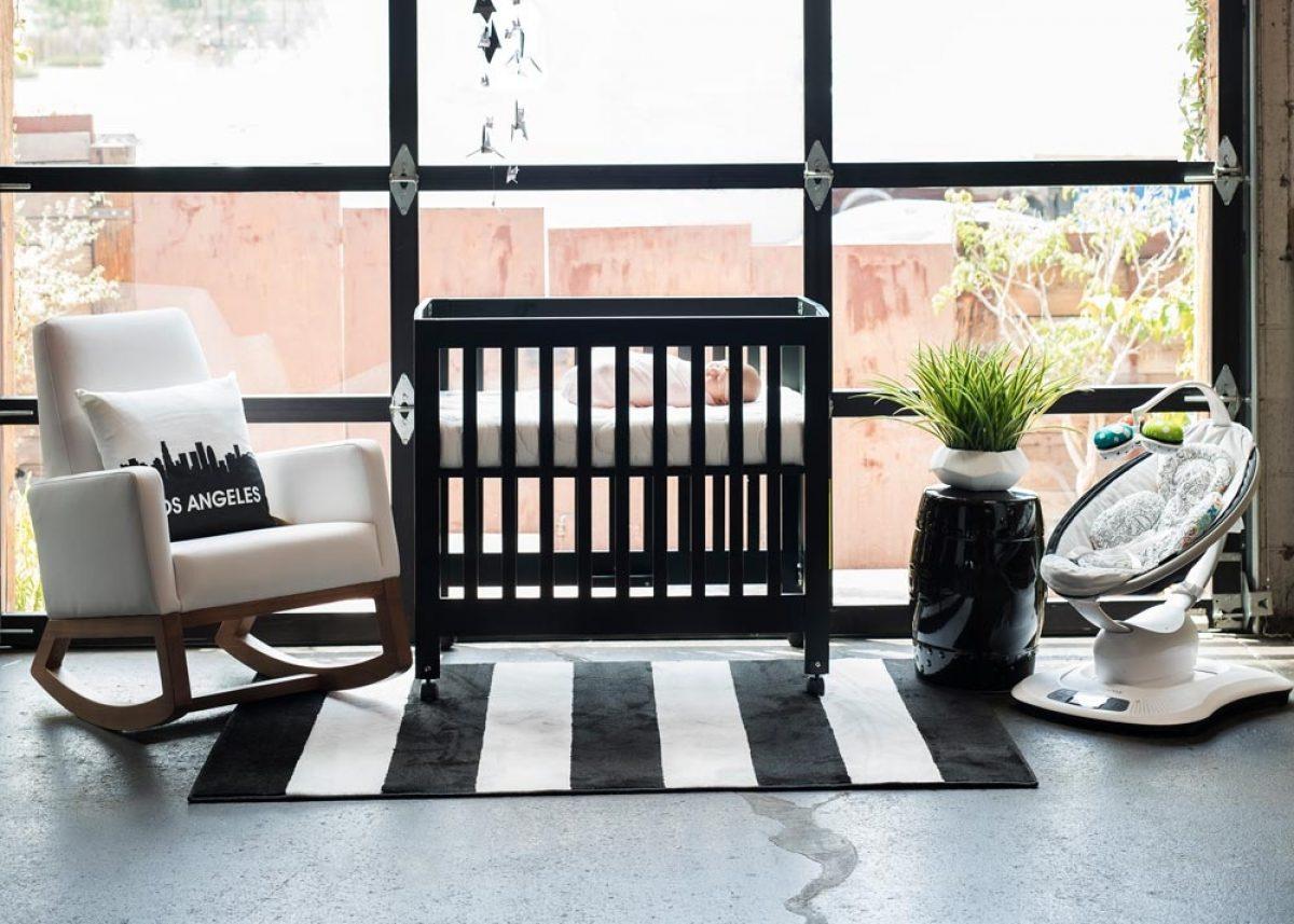 Nook Sleep Systems Mini Crib Mattress Pebble Pure Mini Cloud