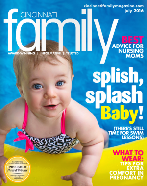 Cincinnati Family - On the go baby LilyPad