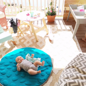Live Sweet Instagram Nook Non-Toxic LilyPad Playmat