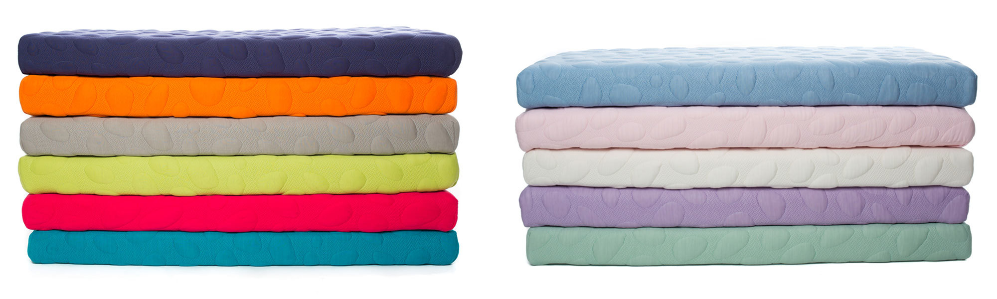 Nook Baby Products - Nook Pebble Pure Organic Non-Toxic Breathable Crib  Mattresses Color Stacks