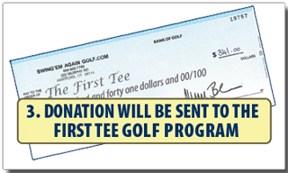 How to Donate to the First Tee - Step 3