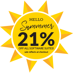 Start of Summer Sale! 21% off all software suites through 6/24