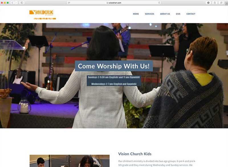 Vision Church of Lockhart StartSITES