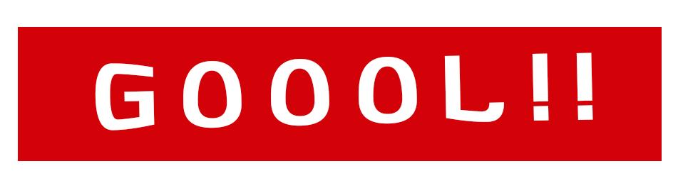 'GOOOL!!' Banner