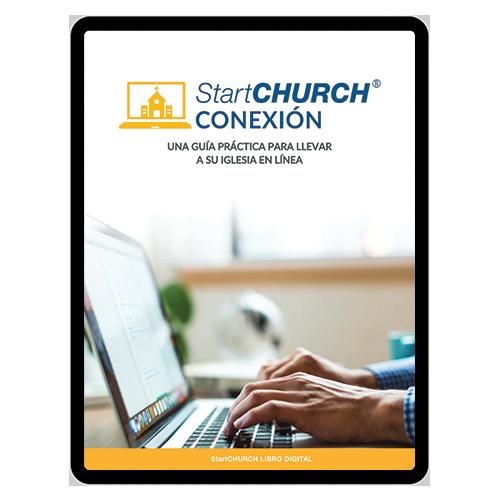 StartCHURCH Conexión on a Macbook